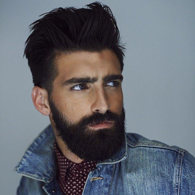 Les 25 meilleures id es de la cat gorie barbe homme sur pinterest barbe barbes et coiffure - Barbe homme style ...
