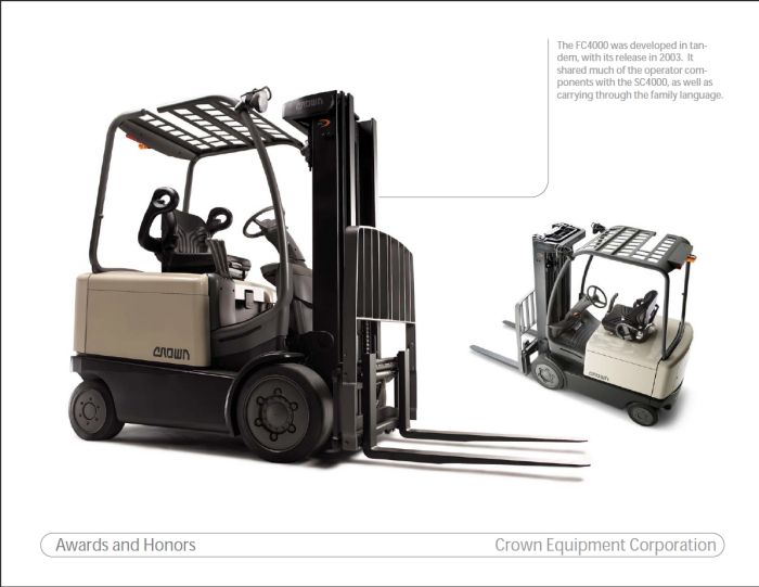 Crown Equipment by Baron Brandt at Coroflot.com