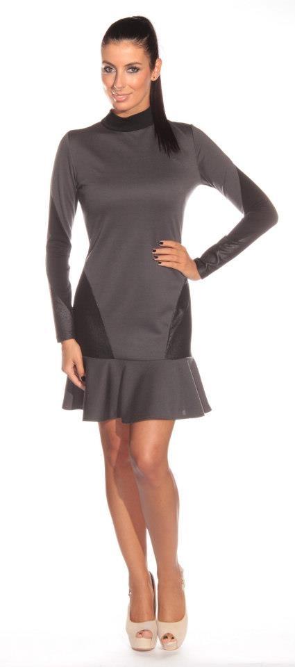 brown dress #shinefashion