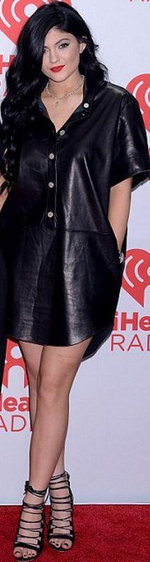Kylie Jenner: Dress - Shoes – Aquazzura