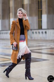 Haute Couture SS 2015 Street Style: Sofie Valkiers