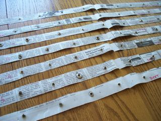 seed tape -- drying