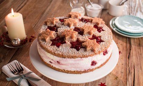 Sternenzauber-Torte Rezept   Dr. Oetker