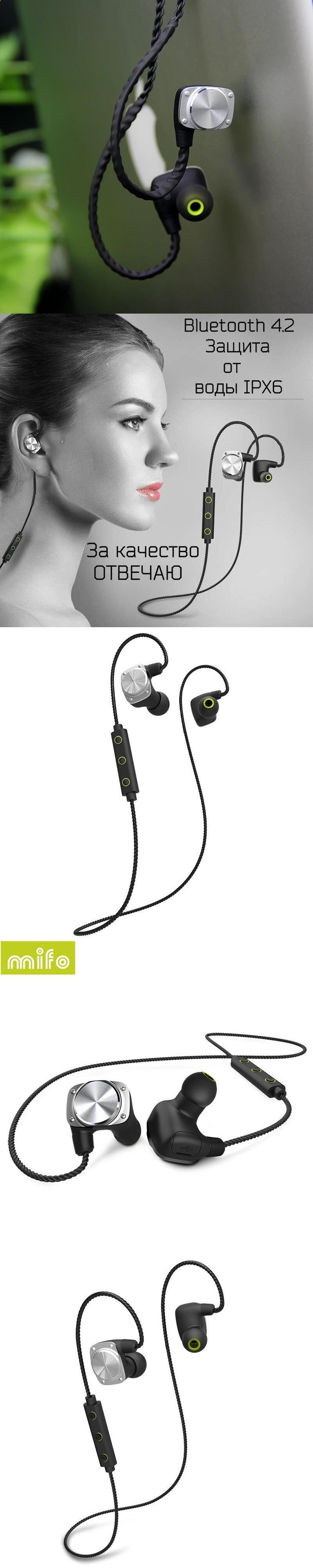 Sports Headphones - Sports Headphones - Mifo U6 Wireless Bluetooth Headset Waterproof Sport Headphone Noise Cancelling Earphone and Headphones with mic Running Earbuds - If you usually go out to run, walk or any other sport in which you usually carry music to accompany or motivate you, we have selected 13 models of sports headphones that we consider among the best in the market for different aspects, from comfort to use to design, sound quality or value for money, so that you find vari...