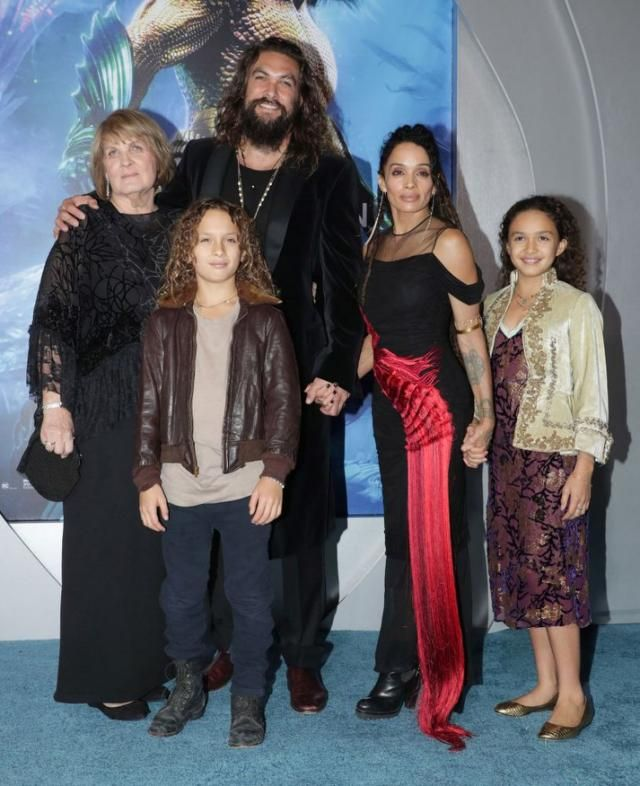 Jason Momoa Takes A Stroll With His Kids: Jason Momoa Knew Lisa Bonet Was The One The Night They Met