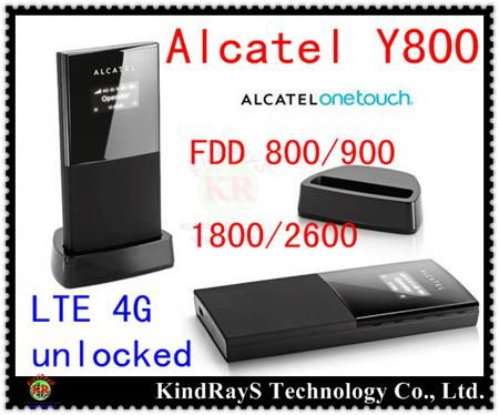 4g wifi router unlocked Alcatel One Touch Y800 lte 4g Wireless router 4g dongle 4g 3g router mifi Hotspot pk y855 y853 y854 w800  — 2719.19 руб. —