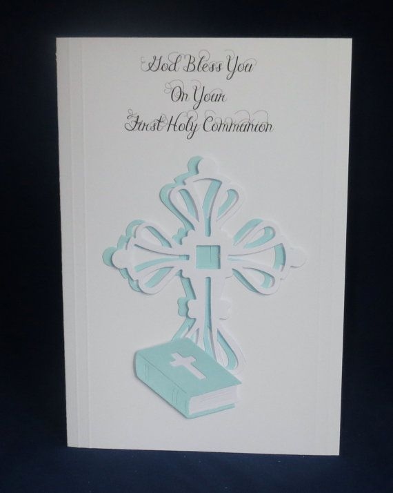 Boys first holy communion card from my Etsy shop