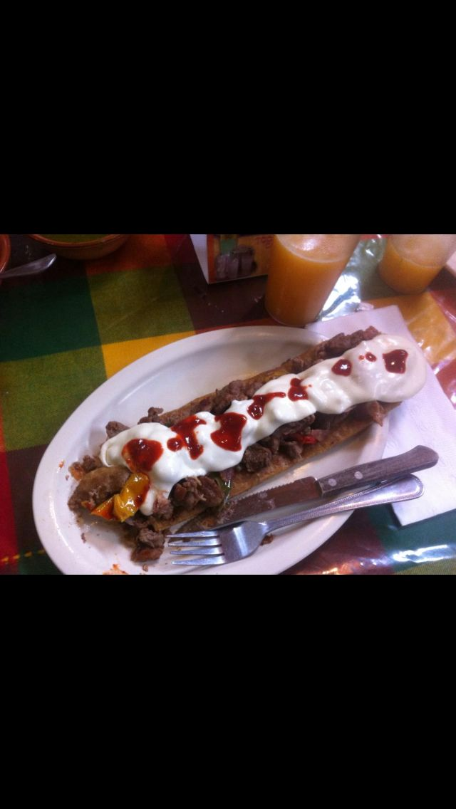 Huarache azteca