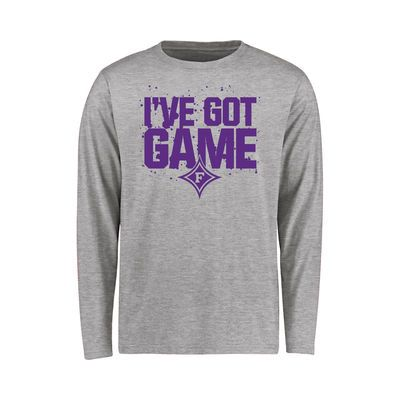 Furman Paladins Youth Got Game Long Sleeve T-Shirt - Ash