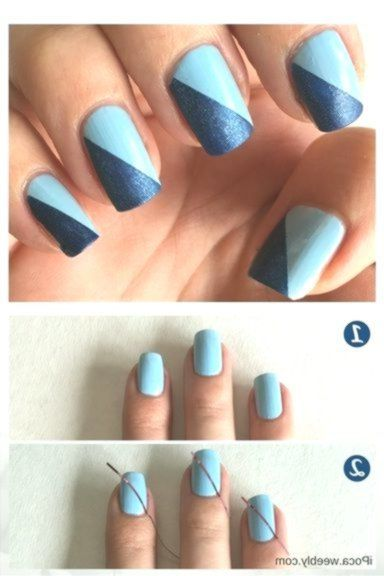 Nails Easy Step By Step 16 Easy Step-by-Step Eyeshadow Tutorials for Beginners 1…