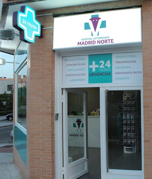 Hospital Veterinario Madrid Norte by Alvaro Herranz, via Behance