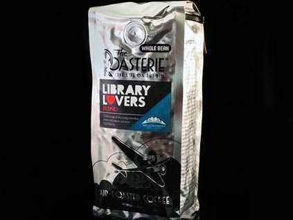Now for sale at MGC - 12 oz. bags of Roasterie's Library Lovers Blend, whole bean and ground ($14).  Read about its development: My Coffee Story - A blog by Steven Potter, MCPL Library Director and CEO (click on the picture)..  #mymgc #mymcpl