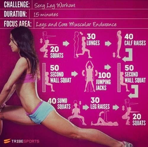 Sexy Leg Workout Challenge