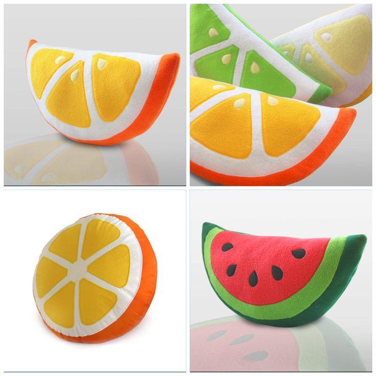 Zelf fruit kussens maken!!