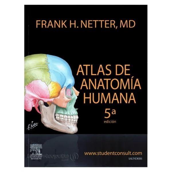 Libros en PDF de Kinesiología y Fisioterapia: Atlas de anatomía Netter, 5ta edición