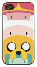 Caso de la Cubierta de para iPhone4 4S Adventure Time Finn y Jake 5 5S 5C 6 6 S más Samsung Galaxy S3 S4 S5 Mini S6 S7edge Nota 2 3 4 J5 J7(China (Mainland))