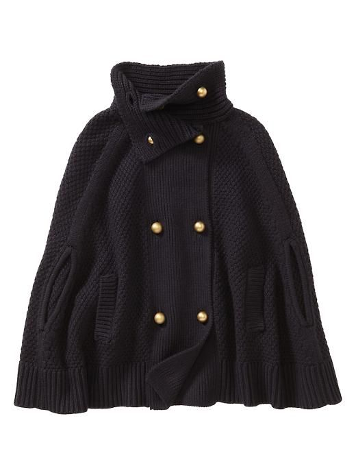 Great cape at Gap! Only $39.99, pretty amazing for the Fall + Winter    http://rstyle.me/hvh7w9c5me