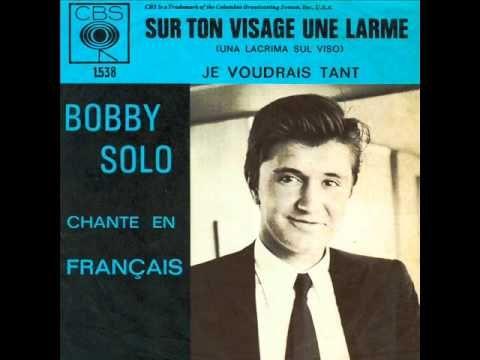 Le Web Journal de Maurice Victor Vial: LA BELLE CHANSON : Bobby Solo - Sur ton visage une...