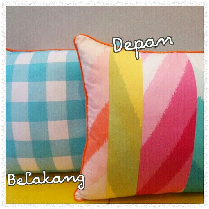 Cushion Cover 40x40cm : Rp 70.000  With insert Rp 100.000  For sale! Order? LINE ID : tambal.sulam