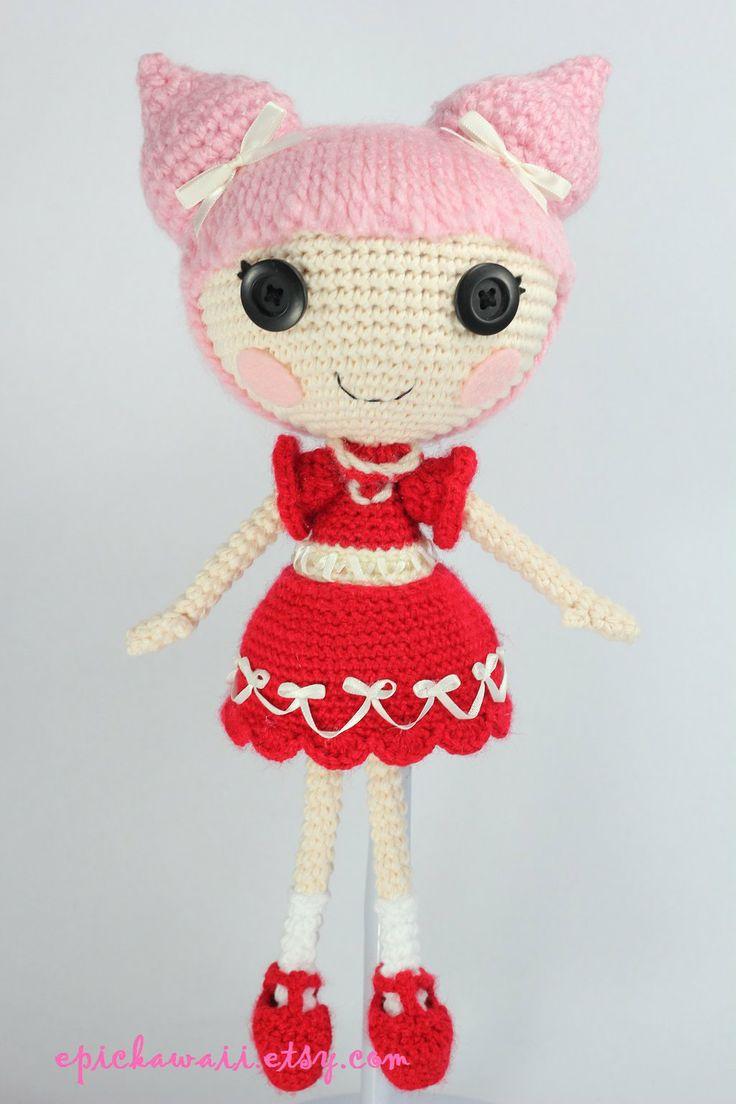 LALALOOPSY Velvet B Mine Crochet Amigurumi Doll by Npantz22.deviantart.com on @deviantART