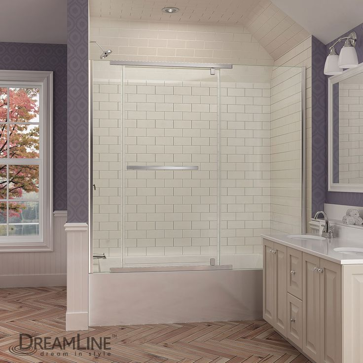 34 best DreamLine Bathtub Doors images on Pinterest | Bathroom ...
