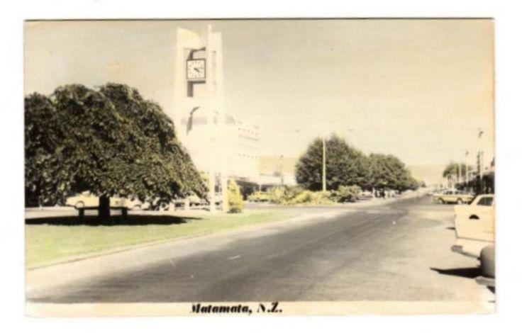 Tinted Postcard by N S Seaward of Matamata. - 45757 - Postcard - Postcards N S Seaward - Postcards By Photographer - EASTAMPS