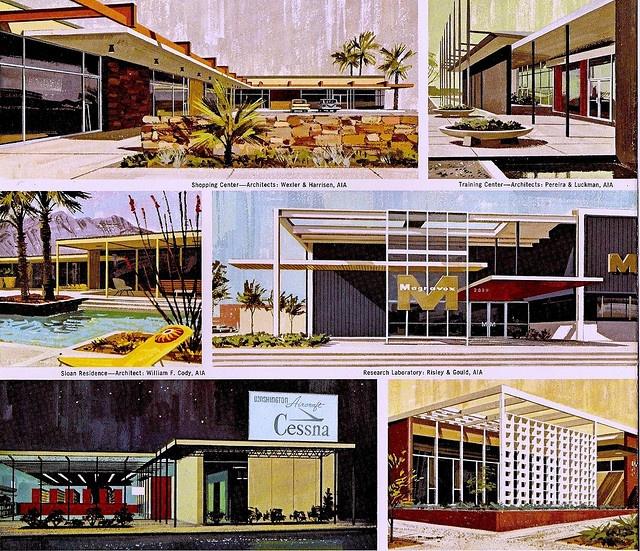 Architectural Rendering Illustrated By Charlie Allen 1960u0027s. Repinned By  Secret Design Studio, Melbourne.