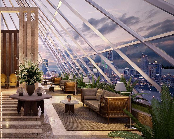 #RoofBar, panoramik İstanbul manzarası ile keyfinizi zirveye taşıyor. #NurolLife|#PracticalLuxury | 444 6496