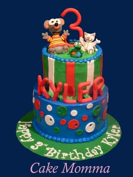 Toopy and Binoo  Cake by cakemomma1979