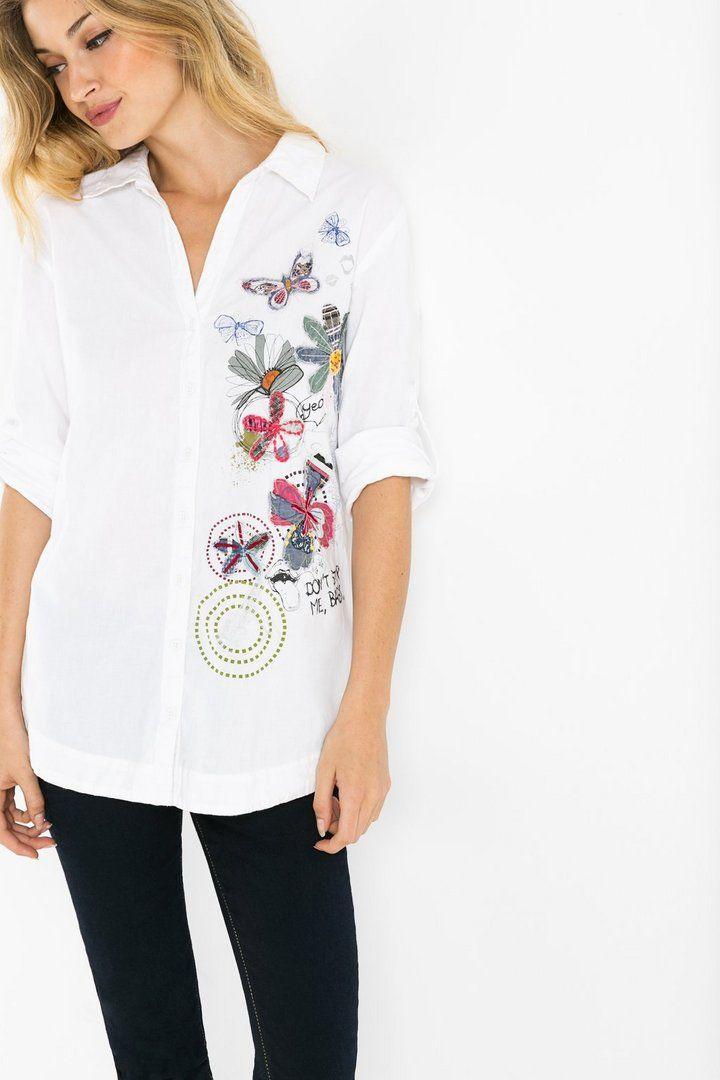Women's floral shirt | Desigual.com B