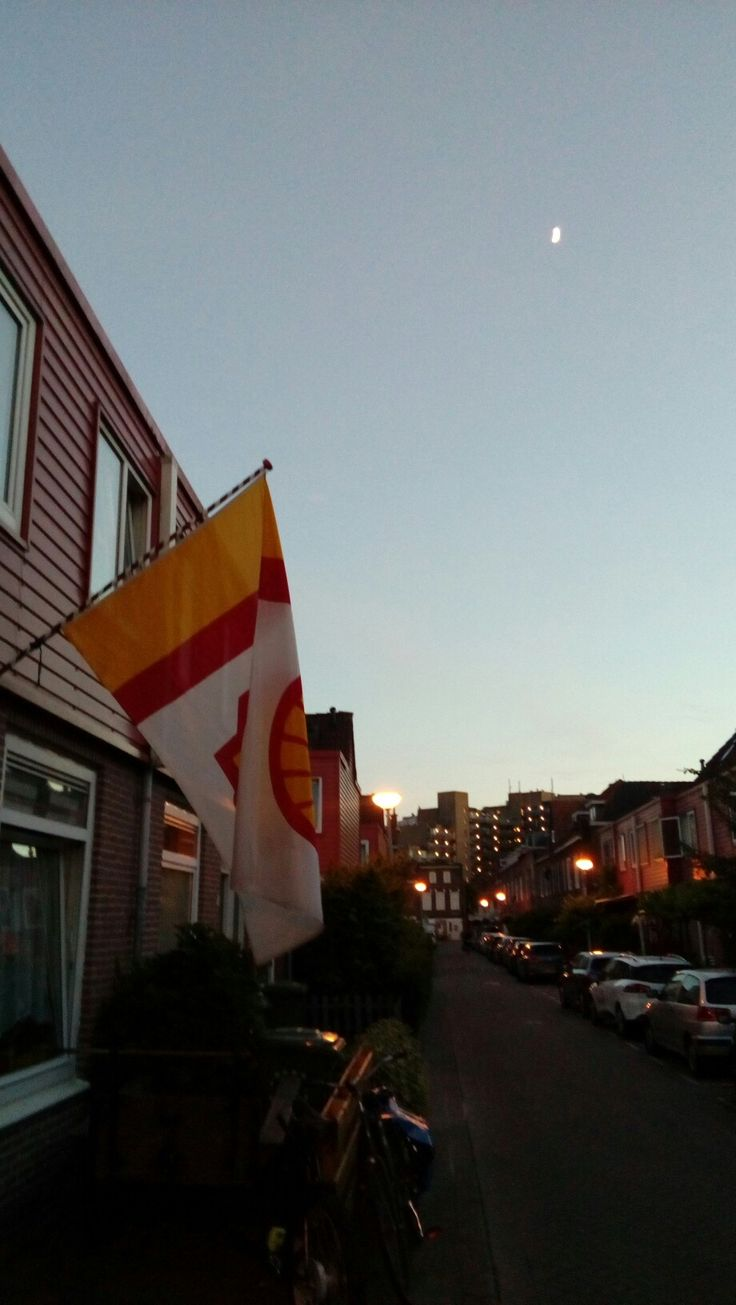 Grote vlag shell