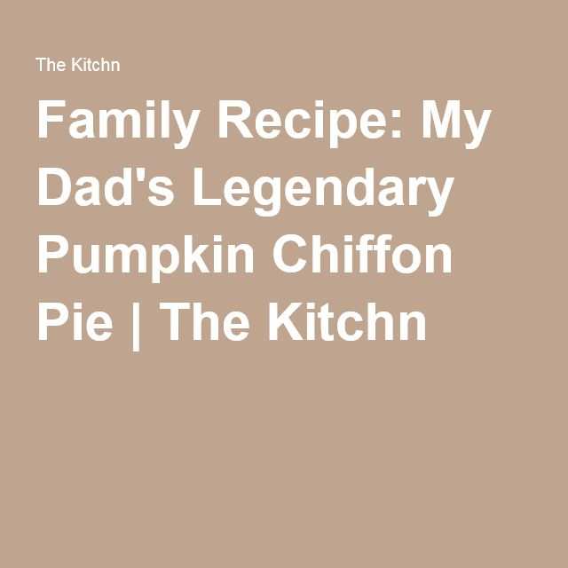 ... Pumpkin Chiffon Pie on Pinterest | Pie, Pie recipes and Pumpkin pies