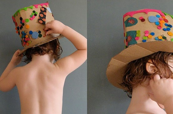 chapéu de mágico: Crafts Ideas, Cardboard Hats, Kids Crafts, Kido Crafts, Hats Crafts, Fun Cardboard, Fun Crafts, Crafty Kids, Cardboard Fun