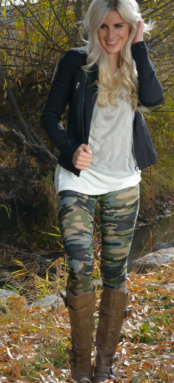 Amy Camouflage Leggings | SexyModest Boutique