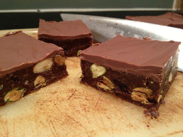 Chocolate Tiffin CakeCholate Tiffin Cake