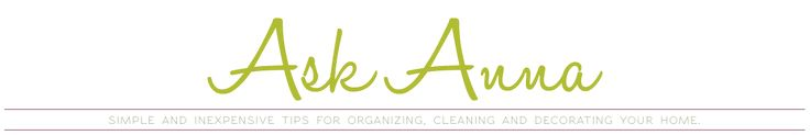 This site has great tips on cleaning your home!