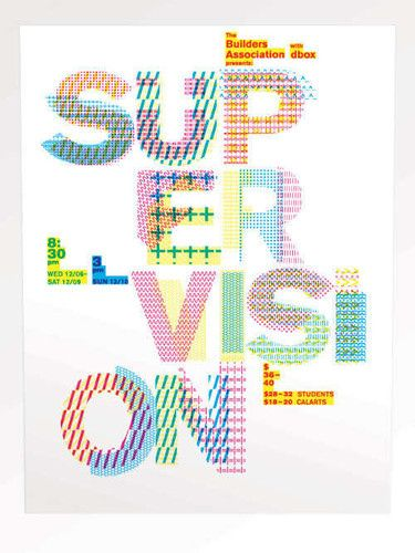 Beauty of Typography - supervision