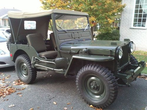 1952 Willys M38 - Photo submitted by Alexandre Bernier.