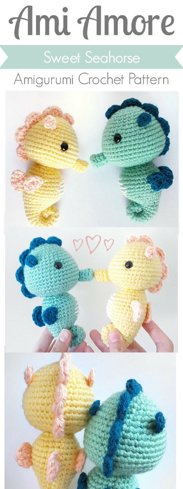 The 25 best baby seahorse ideas on pinterest baby cartoon sweet seahorse crochet pattern ad gift crafts art sea seahorse bankloansurffo Image collections