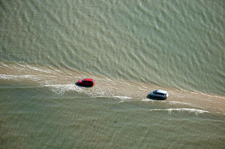 This Road In France Disappears Underwater Two Times A Day | Bored Panda | Bloglovin'