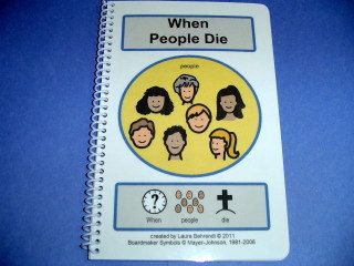 Autism Social Stories When People Die PECS by TheAutismShop