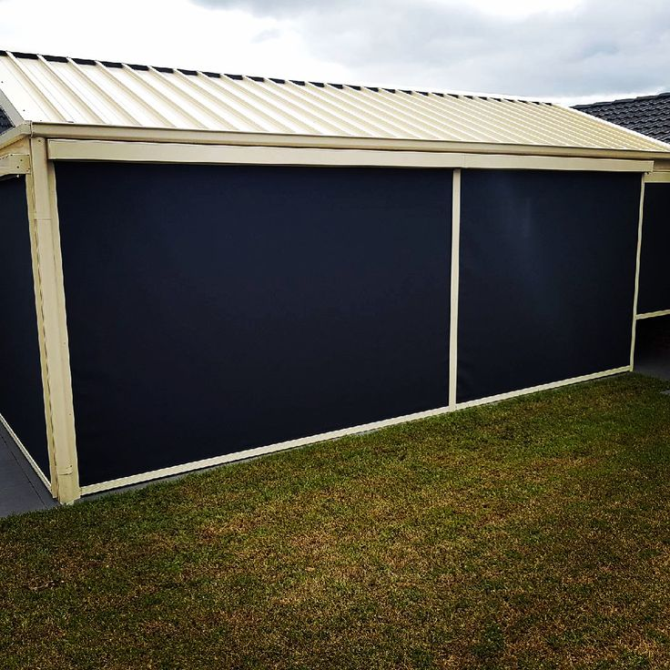 Zip Screen blinds!! So versatile! So good looking! So easy to operate! Fabrics and casing can be colour coordinated to your home. Made in Burwood... call 98802500 #melbournearchitecture #outdoorliving #outdoorblinds #melbourneblinds #melbournehomes #zipsystem #meshblinds #charcoal #blinds #electricblinds #automaticawnings #auto