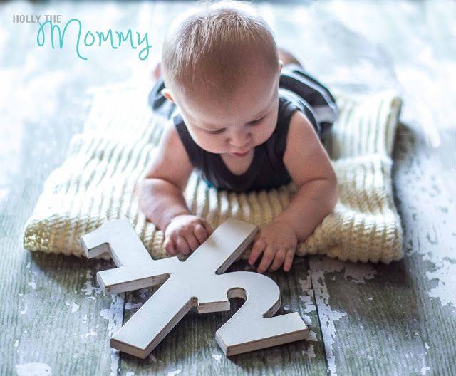 6 Month Photo Ideas Half Birthday Photo Prop For Baby