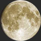 Get today's MOON PHASE or surf to another day to see acturate phase and moon data!