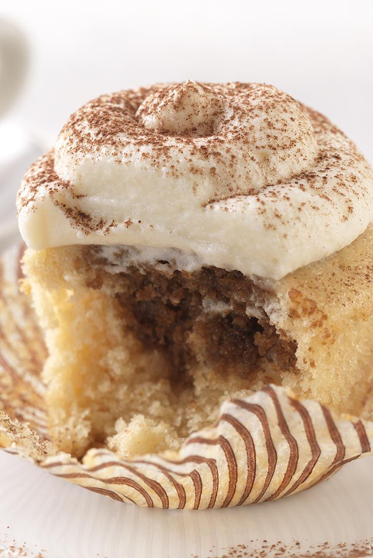 Pinterest Flavor Report: A new spin on sweets; Tiramisu cupcakes.