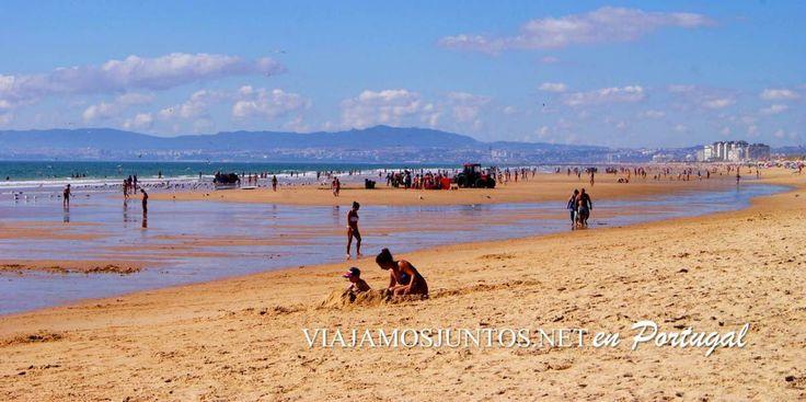Desde la desembocadura del río Tajo, cerca de Lisboa y casi llegando hasta el Cabo Espichel es todo arena, playas interminables, de paisajes variados, con varios campings en sus proximidades y ofer...