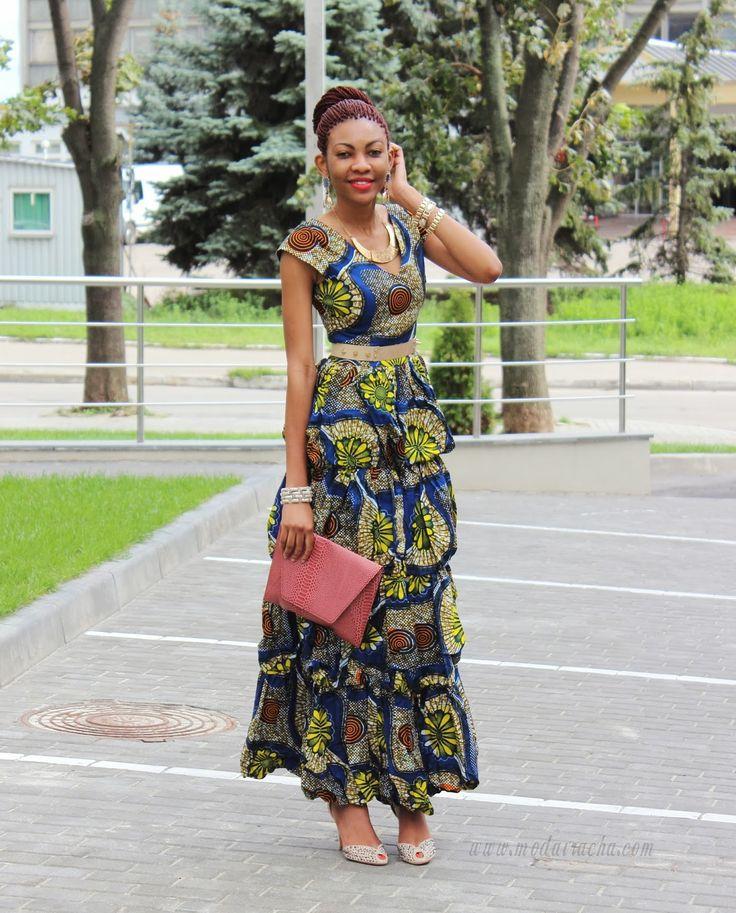 Long Ankara Dress African Dress Nigerian Fashion Blogger Ambaland