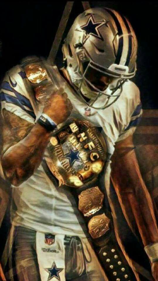 Dallas Cowboy Player Elliot