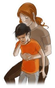 Zadławienie dziecka