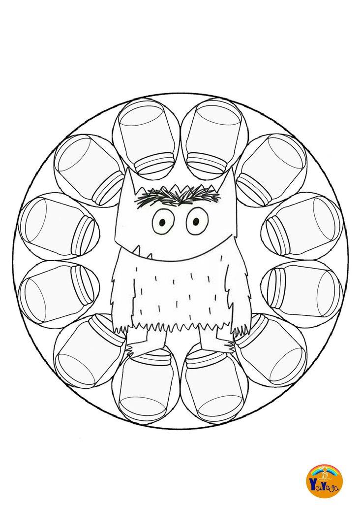 mandalamonstruo1.jpg (1131×1600)
